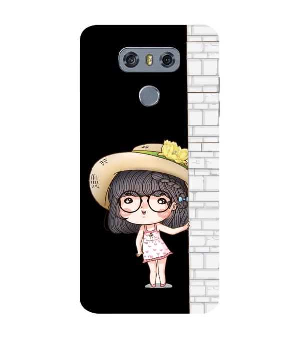 Innocent Girl Back Cover for LG G6