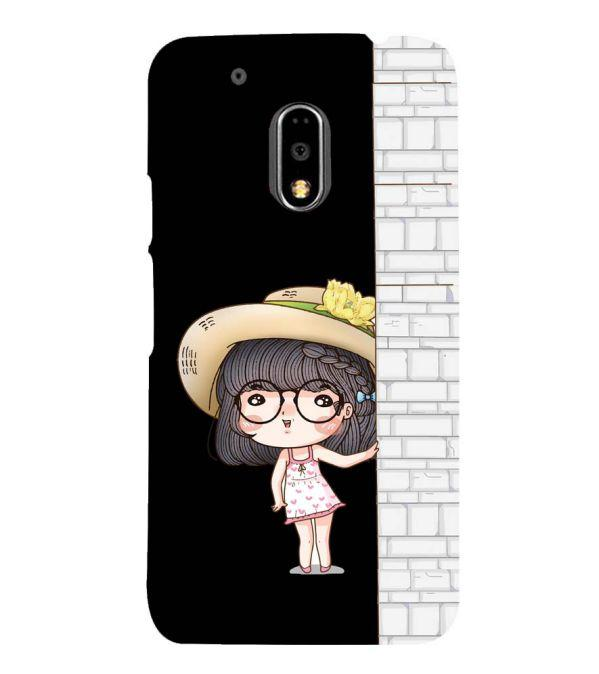 Innocent Girl Back Cover for Motorola Moto G4 and Moto G4 Plus