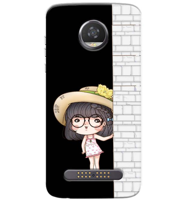 Innocent Girl Back Cover for Motorola Moto Z3 Play