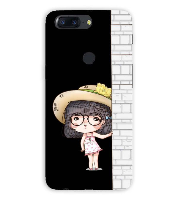 Innocent Girl Back Cover for OnePlus 5T