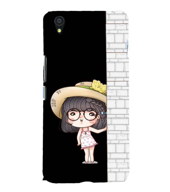 competitive price 070ff e133b Buy Hard Plastic Printed Innocent Girl Best Mobile Case for OnePlus ...