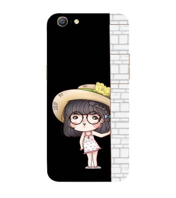 Innocent Girl Back Cover for Oppo A57 : A39