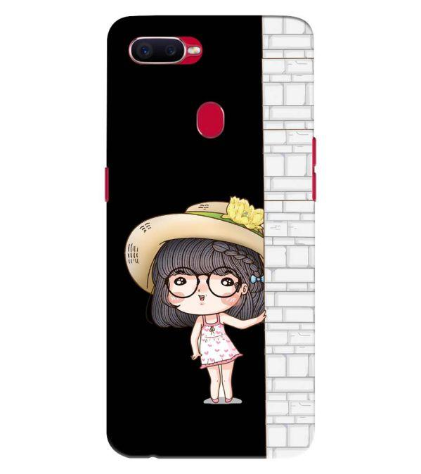 Innocent Girl Back Cover for Oppo F9 Pro