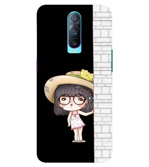 Innocent Girl Back Cover for Oppo RX17 Pro