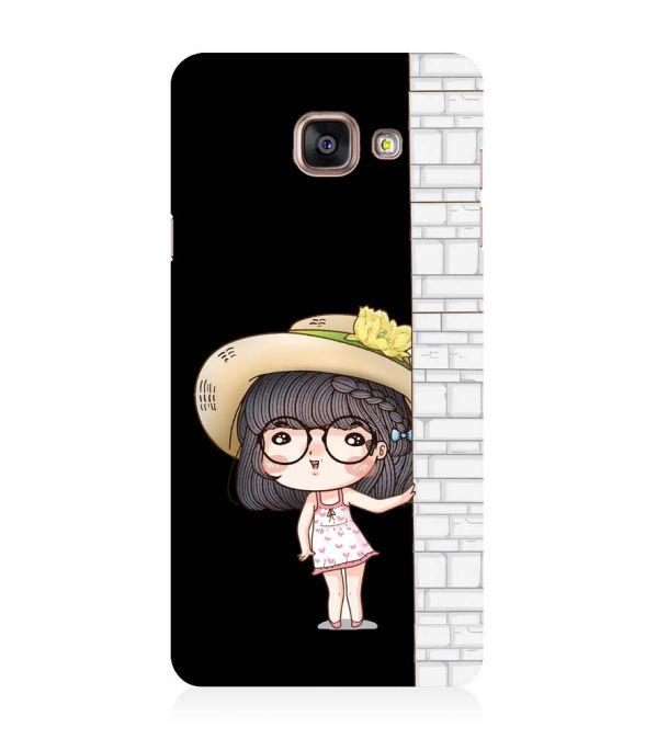 Innocent Girl Back Cover for Samsung Galaxy A5 (6) 2016