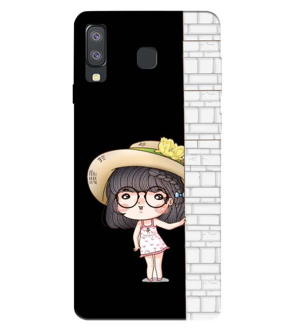 Innocent Girl Back Cover for Samsung Galaxy A8 Star