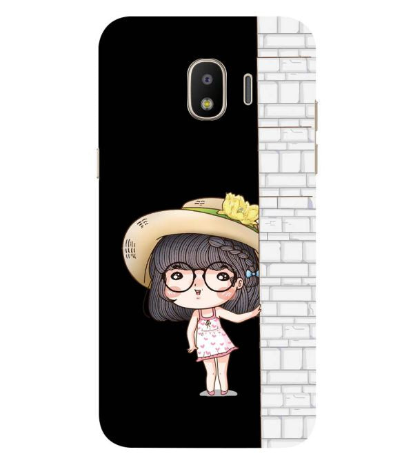 Innocent Girl Back Cover for Samsung Galaxy J2 (2018)