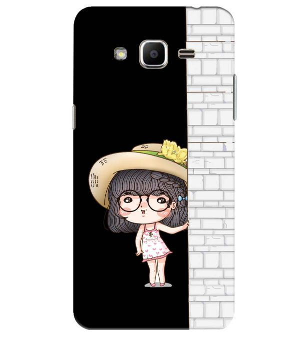Innocent Girl Back Cover for Samsung Galaxy J2 Ace