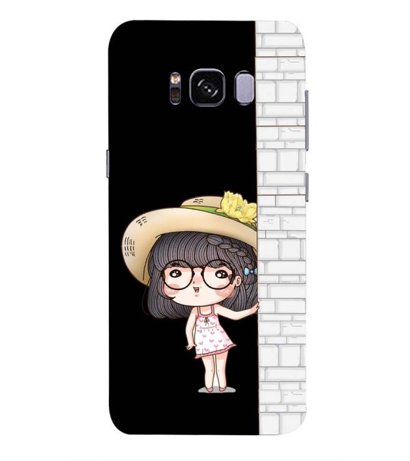 Innocent Girl Back Cover for Samsung Galaxy S8