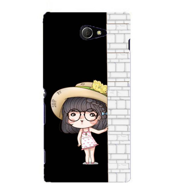 Innocent Girl Back Cover for Sony Xperia M2