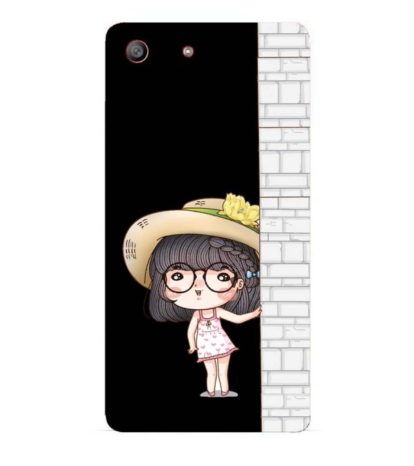 Innocent Girl Back Cover for Sony Xperia M5