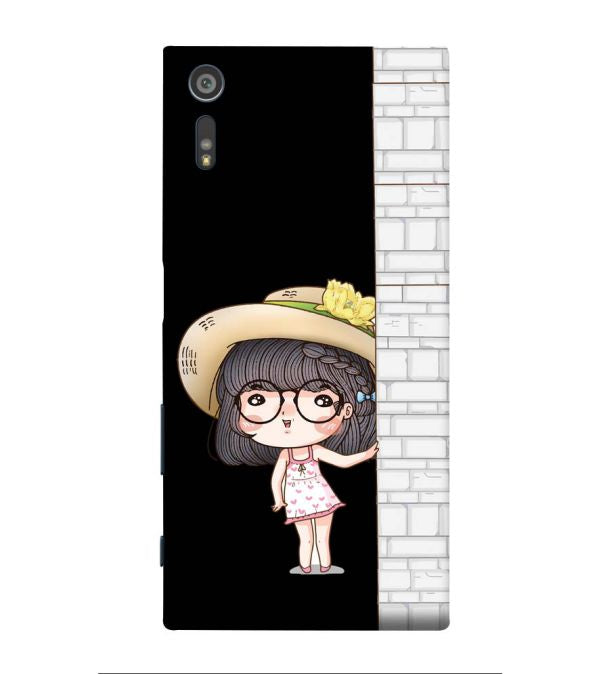 Innocent Girl Back Cover for Sony Xperia XR