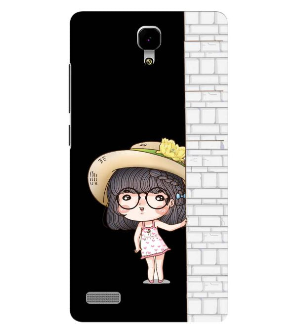 Innocent Girl Back Cover for Xiaomi Redmi Note 4G