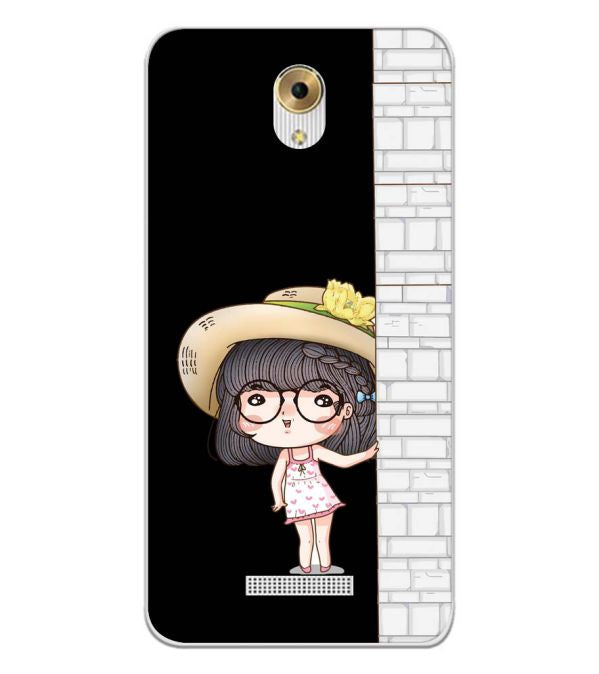 Innocent Girl Back Cover for Coolpad Mega 5M-Image3