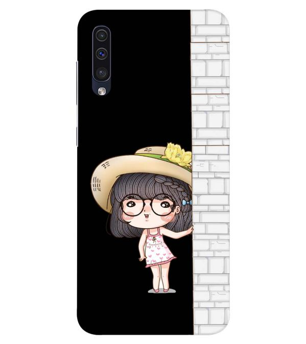 Innocent Girl Back Cover for Samsung Galaxy A50