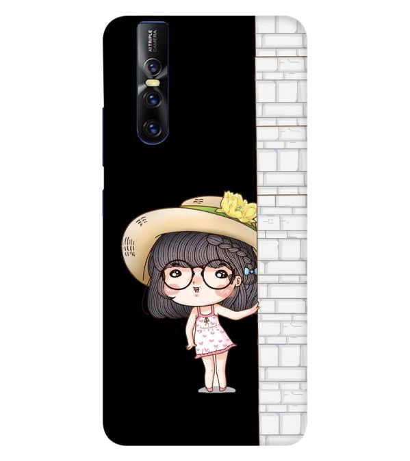 Innocent Girl Back Cover for Vivo V15 Pro