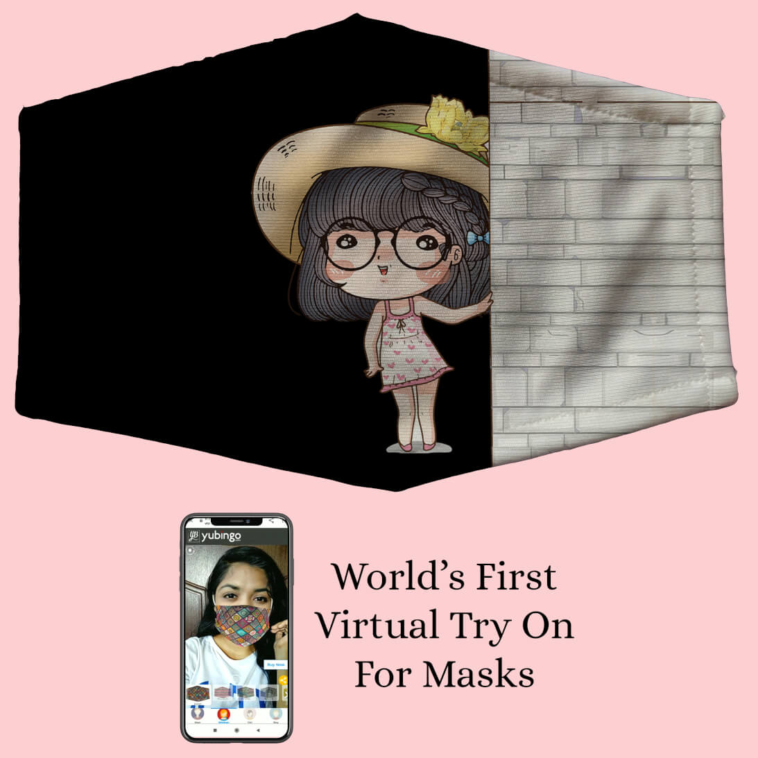 Innocent Girl Mask