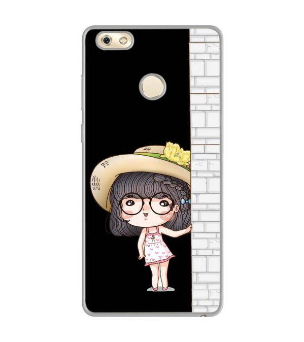 Innocent Girl Soft Silicone Back Cover for Gionee M7 Power