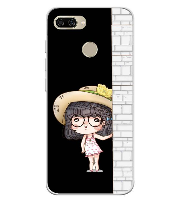 Innocent Girl Soft Silicone Back Cover for Gionee S11 lite