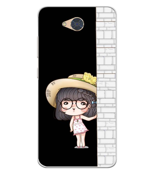 Innocent Girl Soft Silicone Back Cover for Gionee S6Pro