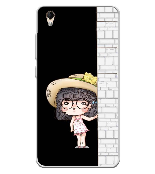 Innocent Girl Soft Silicone Back Cover for Lava Z60