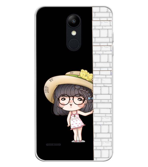 Innocent Girl Soft Silicone Back Cover for LG K9