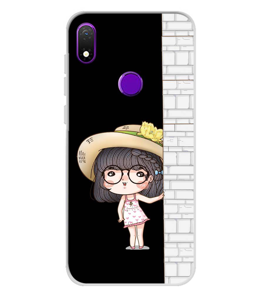 Innocent Girl Soft Silicone Back Cover for Mobiistar X1 Notch