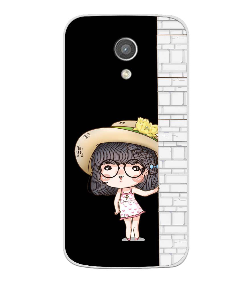 size 40 3717d a2eb4 Innocent Girl Soft Silicone Back Cover for Motorola Moto G2
