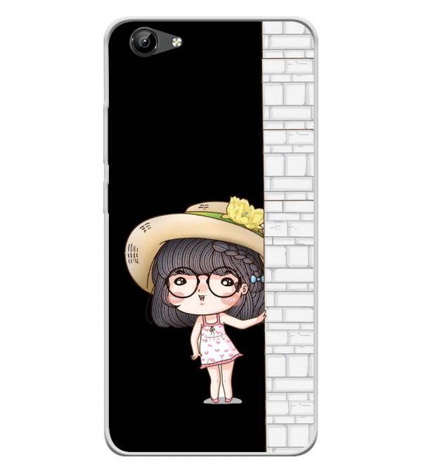 Innocent Girl Soft Silicone Back Cover for Vivo Y71i