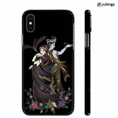 Jai Radha Krishna Back Cover for Apple iPhone X