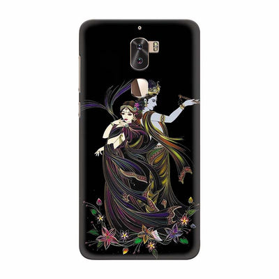 Jai Radha Krishna Back Cover for Coolpad Cool 1