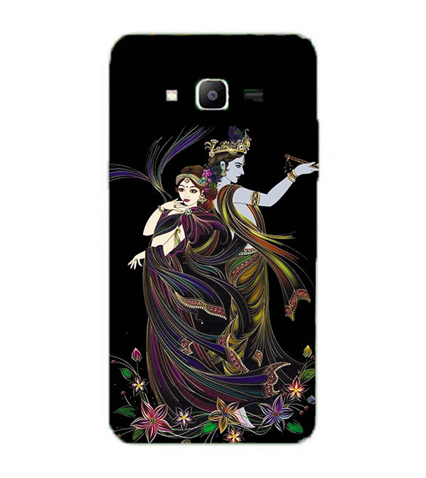 Jai Radha Krishna Back Cover for Samsung Galaxy J2 Prime