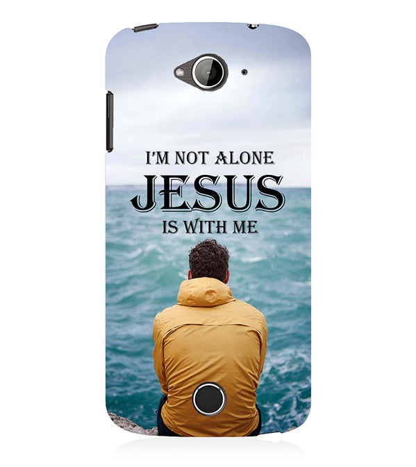 Jesus is with Me Back Cover for Acer Liquid Zade 530