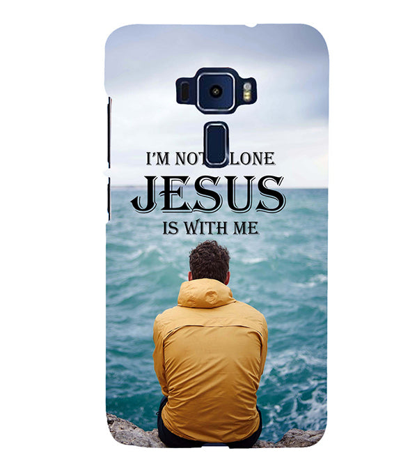 Jesus is with Me Back Cover for Asus Zenfone 3 Deluxe ZS570KL