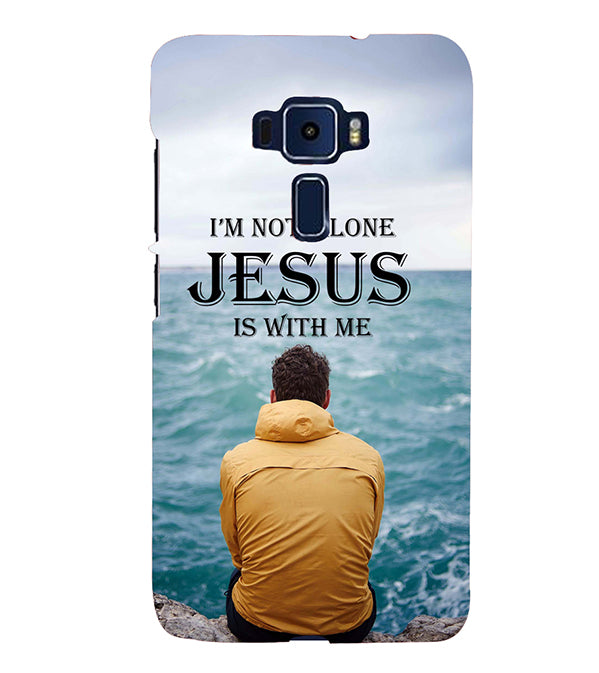 Jesus is with Me Back Cover for Asus Zenfone 3 ZE520KL