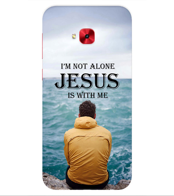 Jesus is with Me Back Cover for Asus Zenfone 4 Selfie