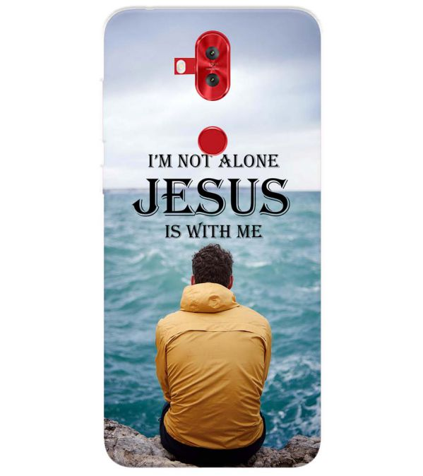 Jesus is with Me Back Cover for Asus Zenfone 5 Lite ZC600KL