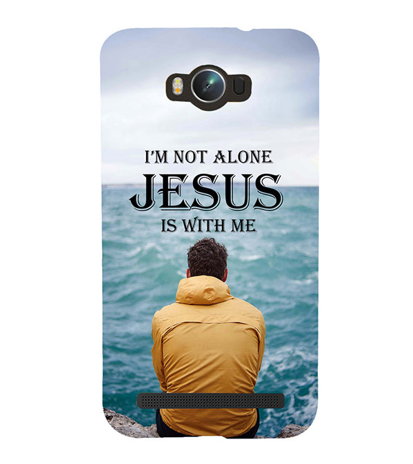 Jesus is with Me Back Cover for Asus Zenfone Max ZC550KL