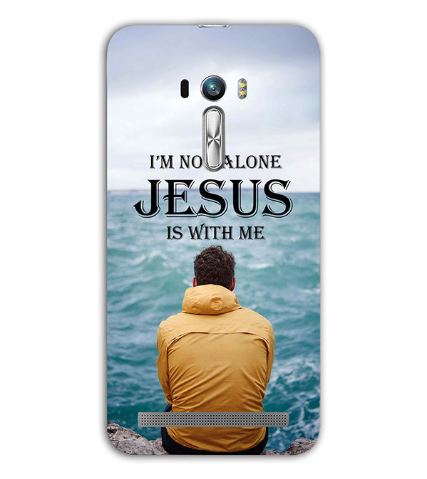 Jesus is with Me Back Cover for Asus Zenfone Selfie