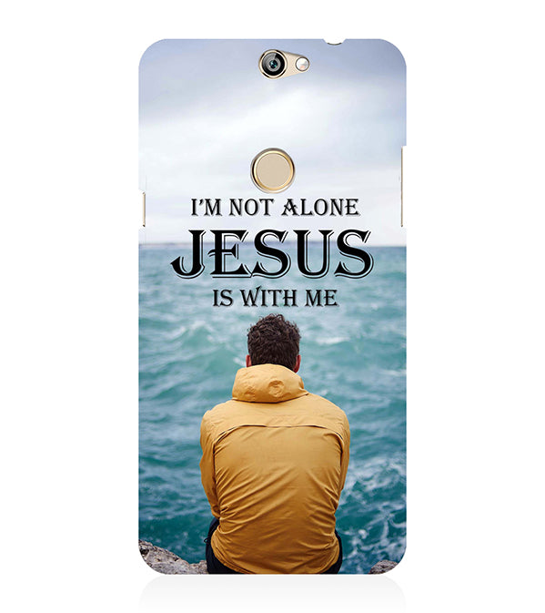 Jesus is with Me Back Cover for Coolpad Max