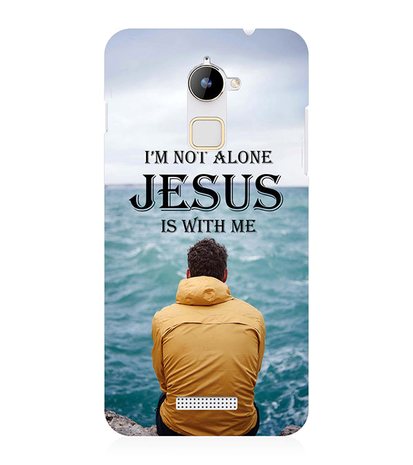 Jesus is with Me Back Cover for Coolpad Note 3 Lite