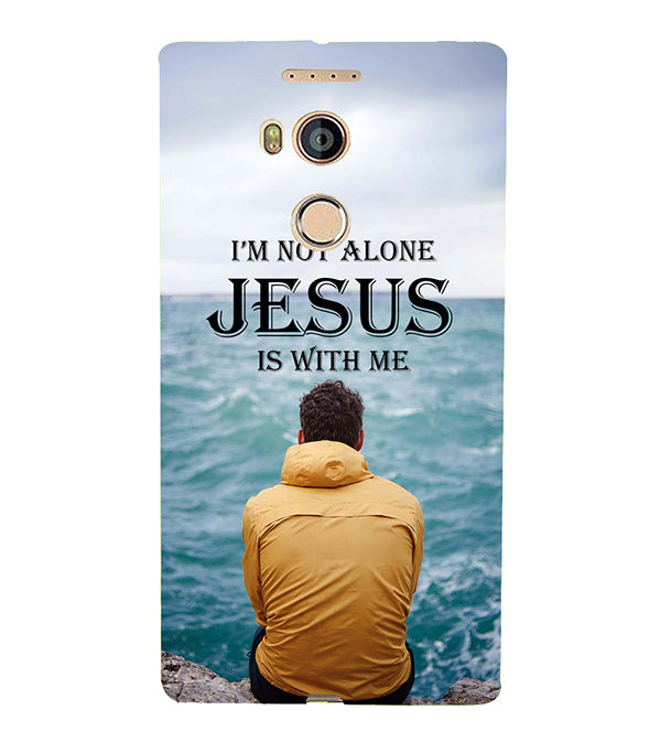 Jesus is with Me Back Cover for Gionee Elife E8