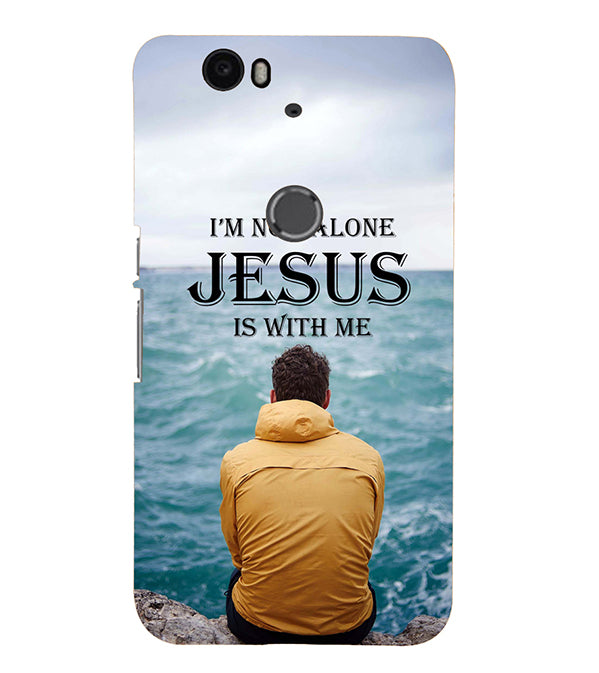 Jesus is with Me Back Cover for Google Nexus 6P