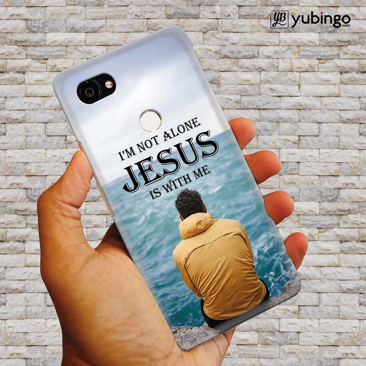 Jesus is with Me Back Cover for Google Pixel 2 XL (6 Inch Screen)