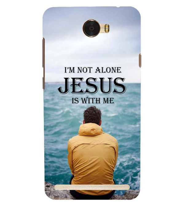 Jesus is with Me Back Cover for Huawei Honor Bee 2 :: Huawei Y3 2