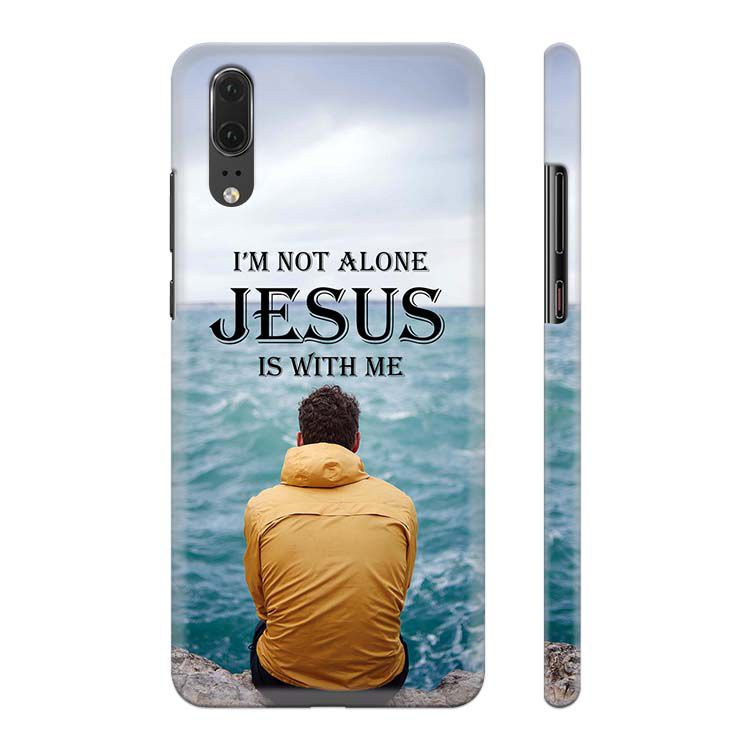 Jesus is with Me Back Cover for Huawei P20