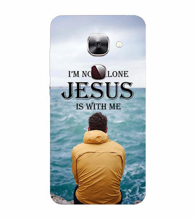 Jesus is with Me Back Cover for LeEco Le 2s