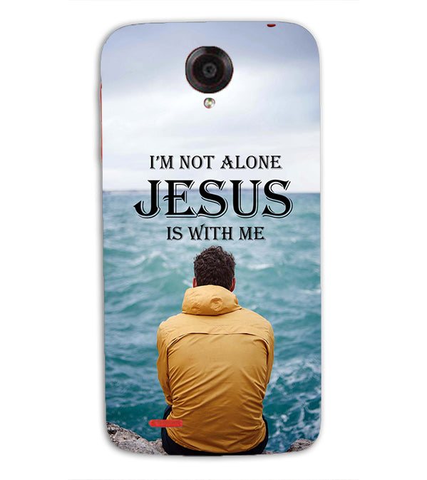 Jesus is with Me Back Cover for Lenovo S820