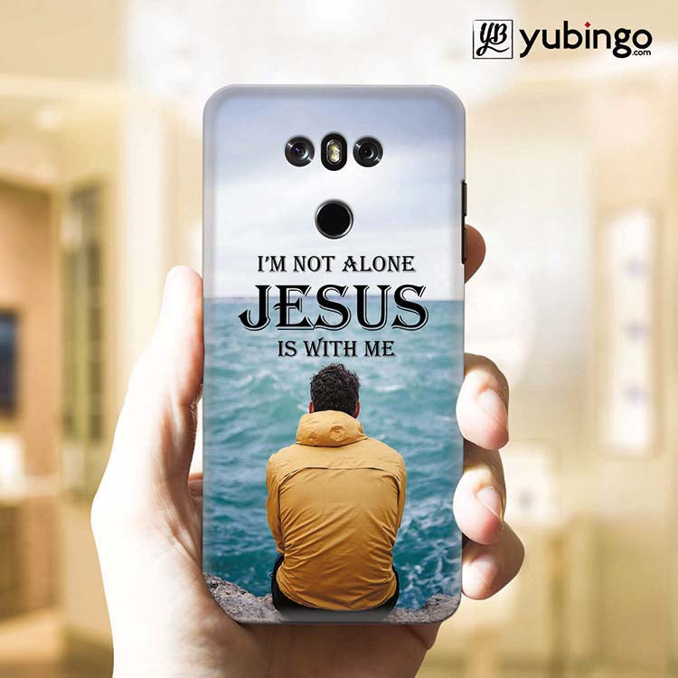 Jesus is with Me Back Cover for LG G6