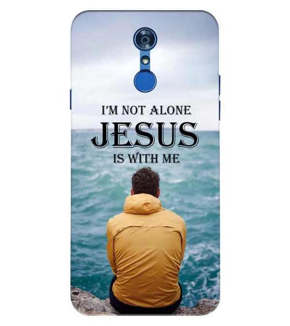Jesus is with Me Back Cover for LG Q7